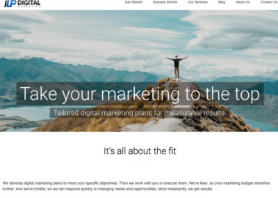 1Up Digital Marketing Website
