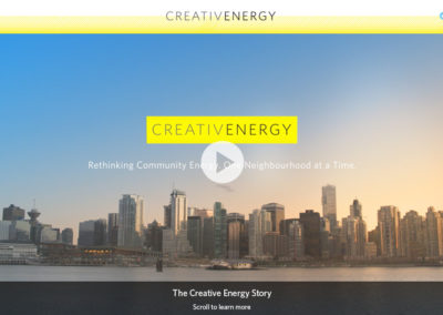 Creative Energy Interactive Video & Website