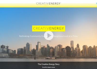 Creative Energy Interactive Video & Website