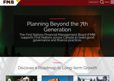 First Nations Financial Management Board Website